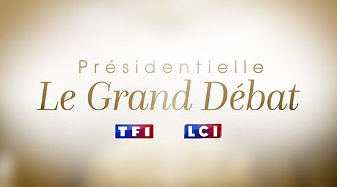 Présidentielle 2017 : le Grand débat sur TF1 et LCI le 20 mars 2017