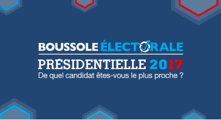 Jouez avec la Boussole électorale : de quel candidat êtes-vous le plus proche ?