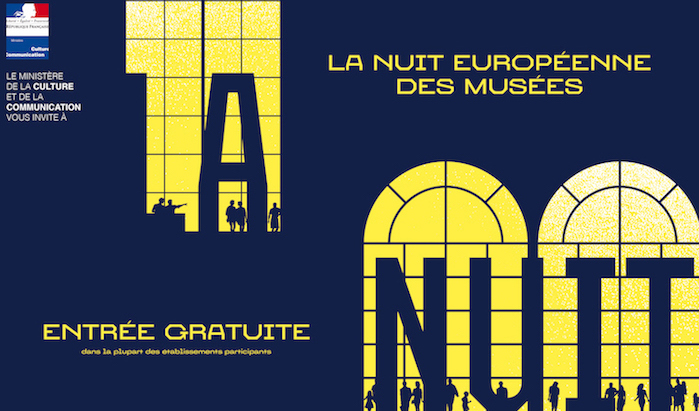 La nuit européenne des musées, le samedi 20 mai 2017