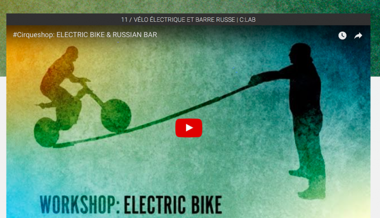 #Cirqueshop : Electric Bike