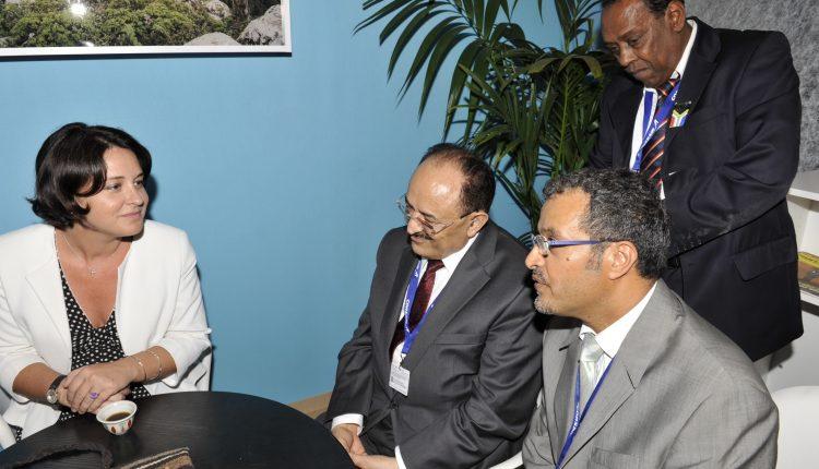 Sadek_Alsaar-Sylvia_Pinel_Ministre du Tourisme Yémen