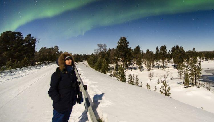 Evelyne Dreyfus en Laponie