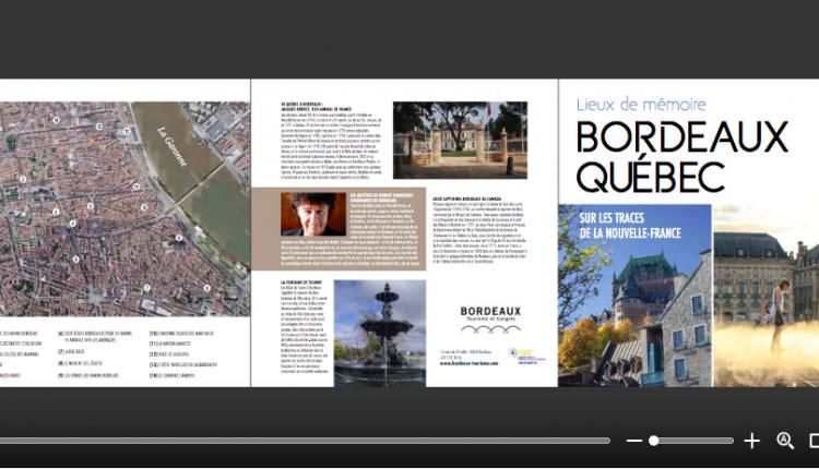 « lieux de mémoire » : de Bordeaux à Québec