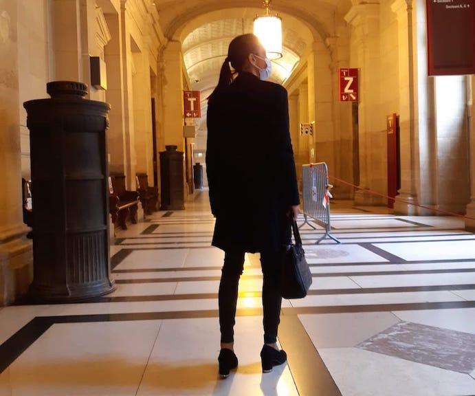 Miss Konfidentielle à la rencontre de Valérie Dervieux, magistrate, cour d'appel de Paris © Valérie Desforges